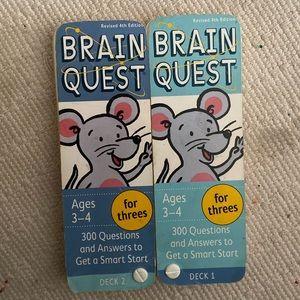 Brain Quest for 3 year olds preschool